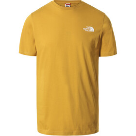 The North Face Simple Dome SS T-shirt Herrer, gul